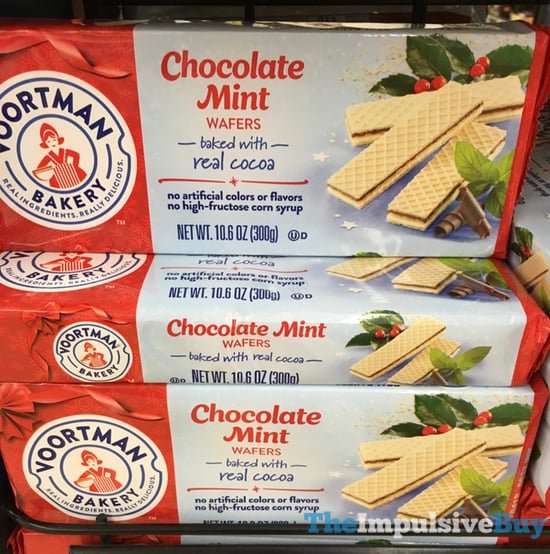 Voortman Bakery Chocolate Mint Wafers