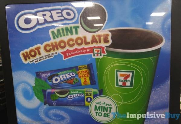 7 Eleven Mint Oreo Hot Chocolate