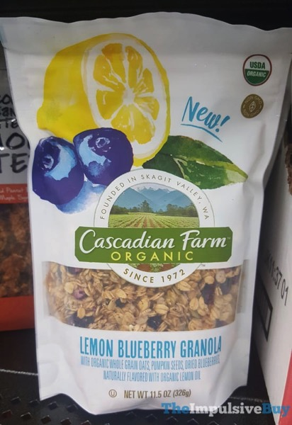Cascadian Farm Organic Lemon Blueberry Granola
