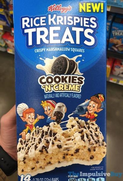 Cookies  n Creme Rice Krispies Treats