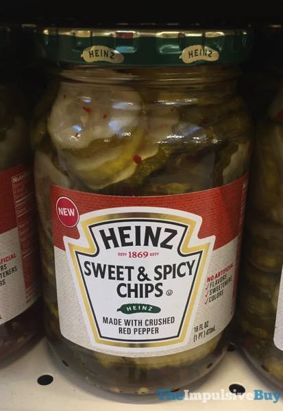 Heinz Sweet  Spicy Chips