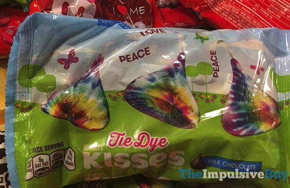 spotted on shelves hershey 39 s tie dye milk chocolate kisses the impulsive buy. Black Bedroom Furniture Sets. Home Design Ideas