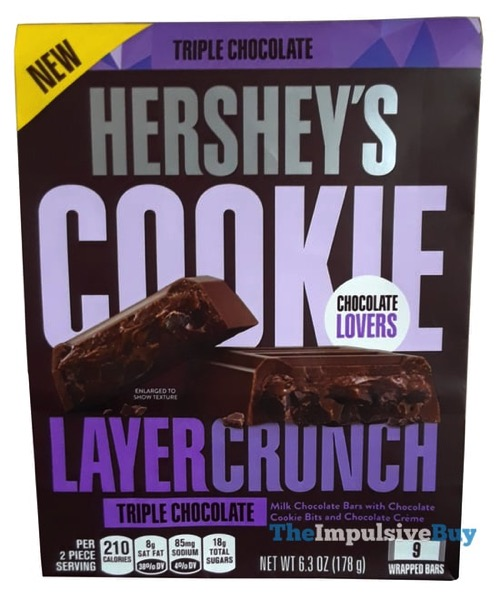 Hershey s Triple Chocolate Cookie Layer Crunch Bars
