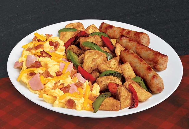 Jack in the Box Brunchfast Country Scrambler Plate