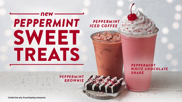 Jack in the Box Peppermint Sweet Treats
