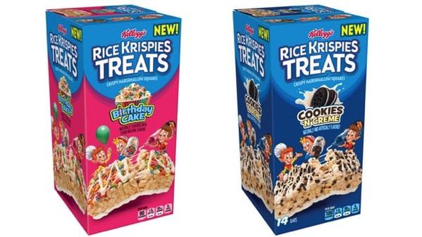 Kellogg s Birthday Cake and Cookies  n Creme Rice Krispies Treats
