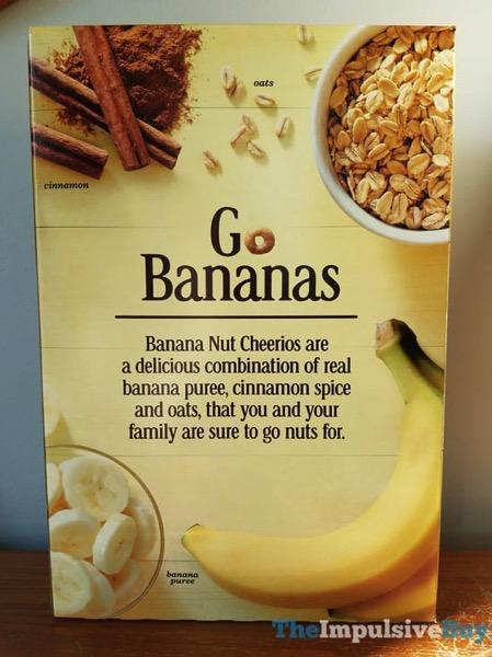 Limited Edition Banana Nut Cheerios 2