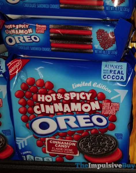 Limited Edition Hot  Spicy Cinnamon Oreo Cookies