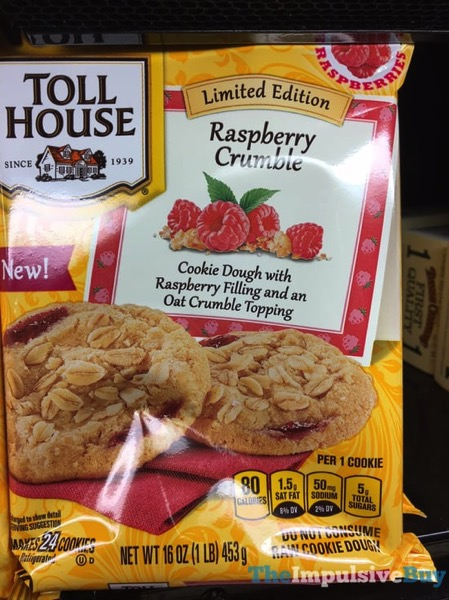 Nestle Toll House Limited Edition Raspberry Crumble Cookie Dough