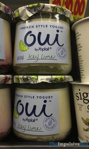Oui by Yoplait Key Lime French Style Yogurt