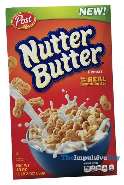 Post Nutter Butter Cereal