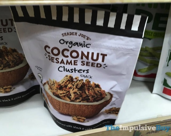 Trader Joe s Organic Coconut Sesame Seed Clusters Snack