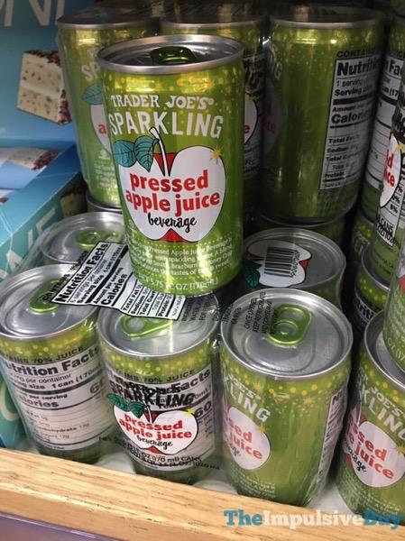 Trader Joe s Sparkling Pressed Apple Juice Beverage