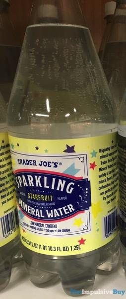 Trader Joe s Starfruit Sparkling Mineral Water