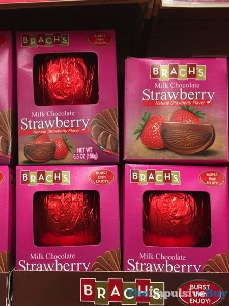 Brach s Burst Then Enjoy Milk Chocolate Strawberry