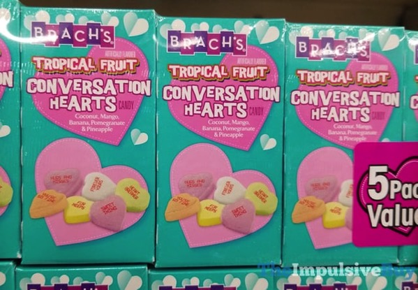 Brach s Tropical Fruit Conversation Hearts