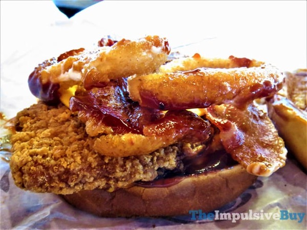 Burger King Rodeo Crispy Chicken Sandwich 3