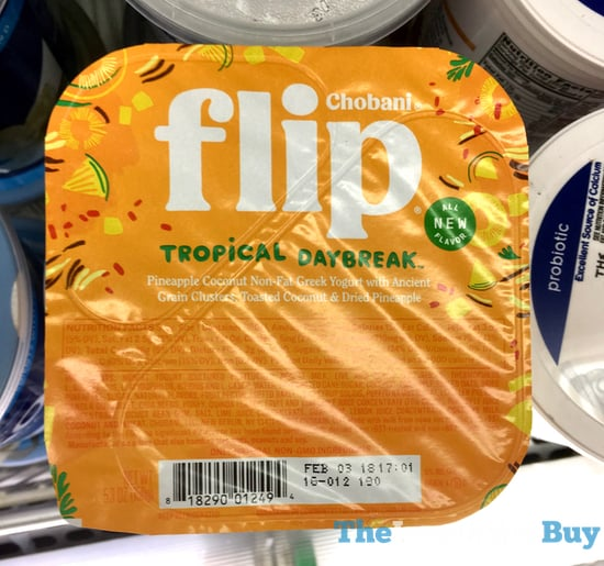 Chobani Flip Tropical Daybread Yogurt