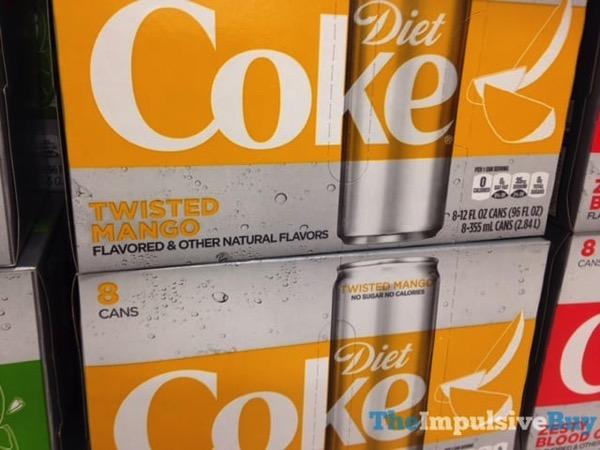 Diet Coke Twisted Mango