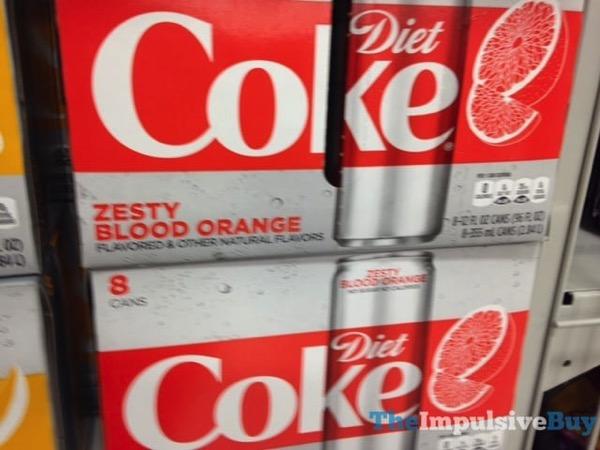 Diet Coke Zesty Blood Orange