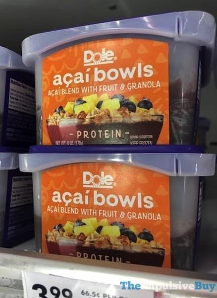 Dole Protein Acai Bowls jpg