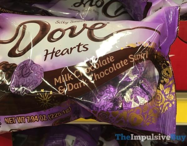 Dove Hearts Milk Chocolate  Dark Chocolate Swirl