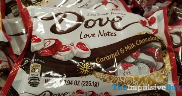 Dove Love Notes Caramel  Milk Chocolate