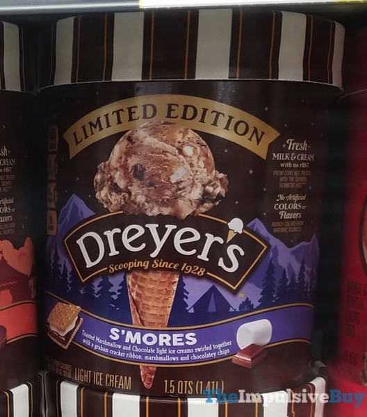 Dreyer s Limited Edition S mores Light Ice Cream