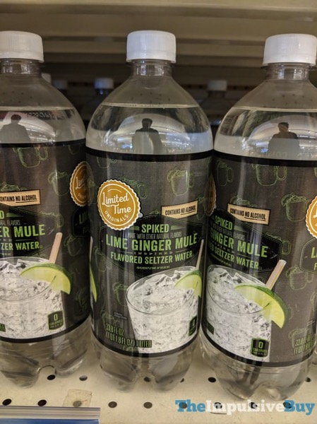 Giant Limited Time Originals Spiked Lime Ginger Mule Flavored Seltzer Water