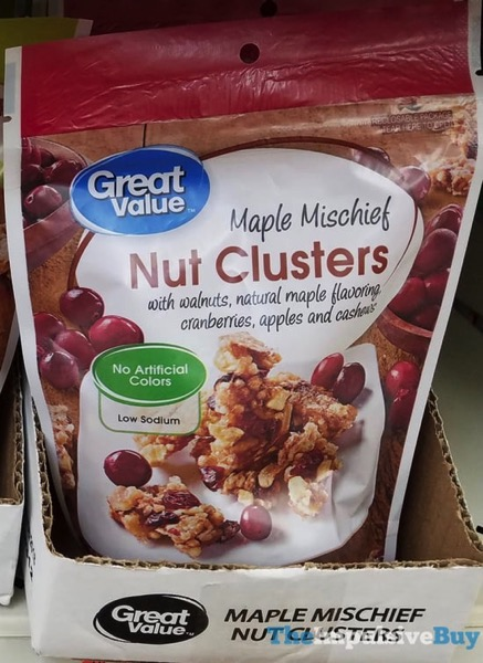 Great Value Maple Mischief Nut Clusters