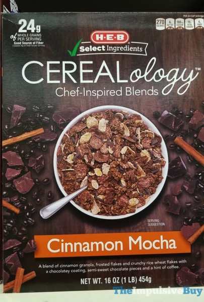 H E B Cinnamon Mocha Cerealology
