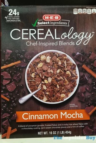 H E B Cinnamon Mocha Cerealology