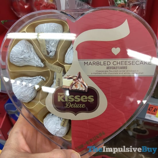 Hershey s Kisses Deluxe Marbled Cheesecake Heart Shaped Box