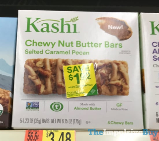 Kashi Salted Caramel Pecan Chewy Nut Butter Bars