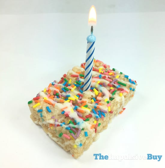 Pleasing Review Kelloggs Birthday Cake And Cookies N Creme Rice Personalised Birthday Cards Cominlily Jamesorg