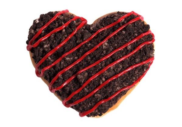 Krispy Kreme Oreo Cookie s  Kreme Doughnut