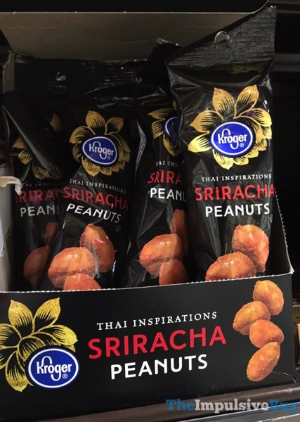 Kroger Thai Inspirations Sriracha Peanuts jpg