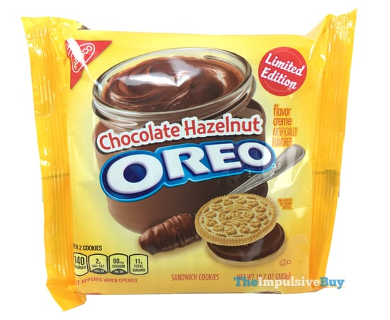Limited Edition Chocolate Hazelnut Oreo Cookies
