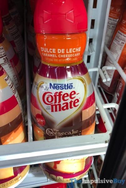 Nestle Coffee mate The Cheesecake Factory Dulce De Leche Caramel Cheesecake Creamer