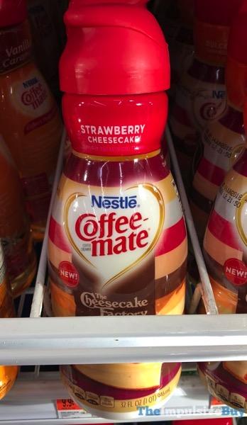 Nestle Coffee mate The Cheesecake Factory Strawberry Cheesecake Creamer