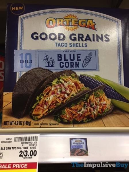 Ortega Blue Corn Good Grains Taco Shells