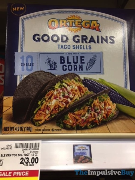 Ortega Blue Corn Good Grains Taco Shells