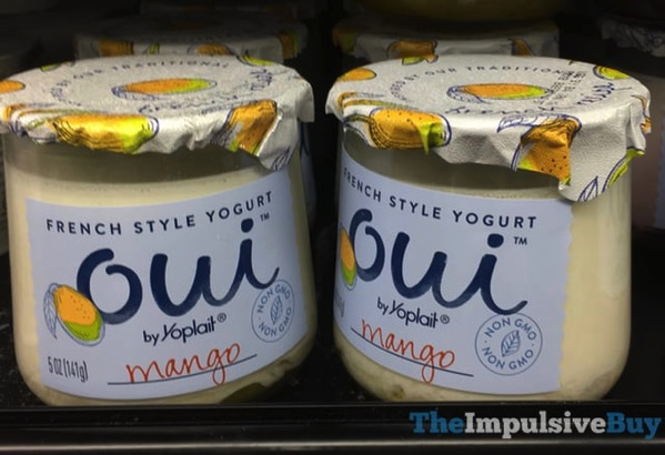 Oui by Yoplait Mango French Style Yogurt