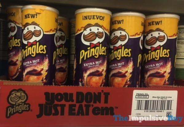Pringles Extra Hot Chili  Lime
