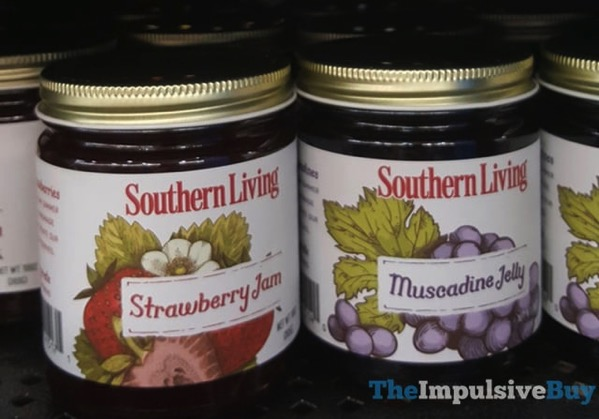 Southern Living Strawberry Jam and Muscadine Jelly