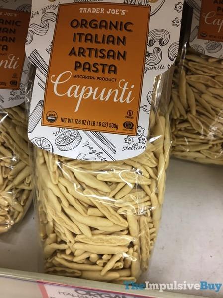 Trader Joe s Capunti Organic Italian Artisan Pasta