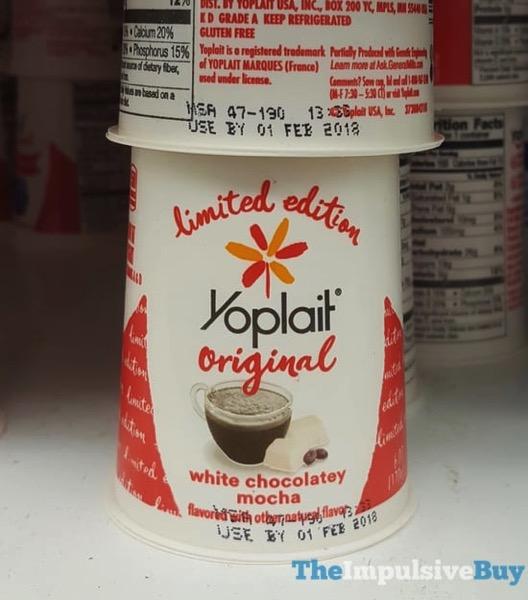Yoplait Original Limited Edition White Chocolatey Mocha
