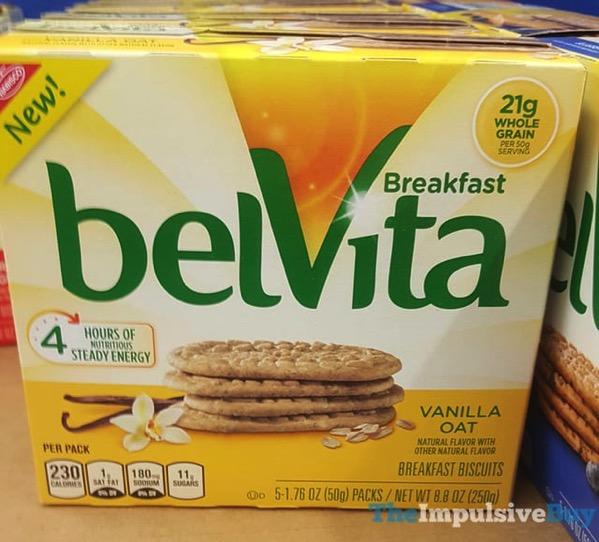 BelVita Vanilla Oat Breakfast Biscuits