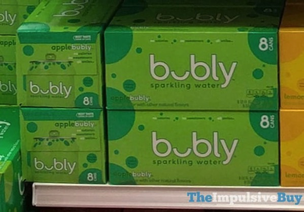 Bubly Apple Sparkling Water