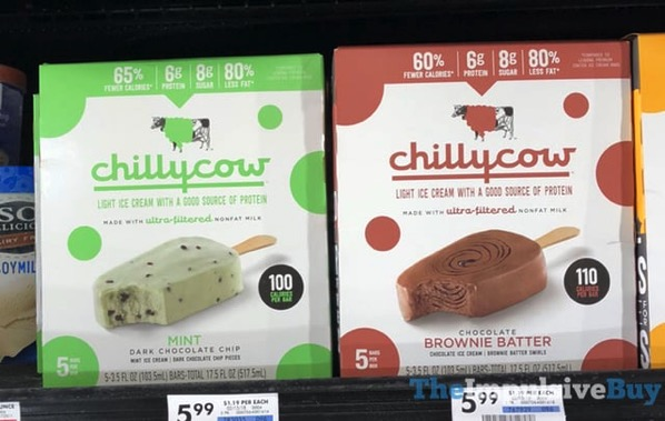 Chilly Cow Bars  Mint Dark Chocolate Chip and Chocolate Brownie Batter